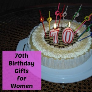 70th Birthday Gifts Women